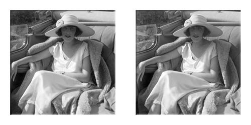 Lartigue's wife Bibi in the family Hispano-Suiza